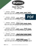 Bds Heel Toe Fills