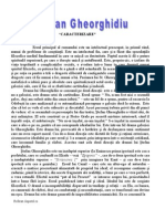 Referat.clopotel.ro-stefan Gheorghidiu Caracterizare