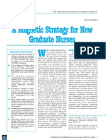 A Magnetic Strategy for New Graduate Nurses