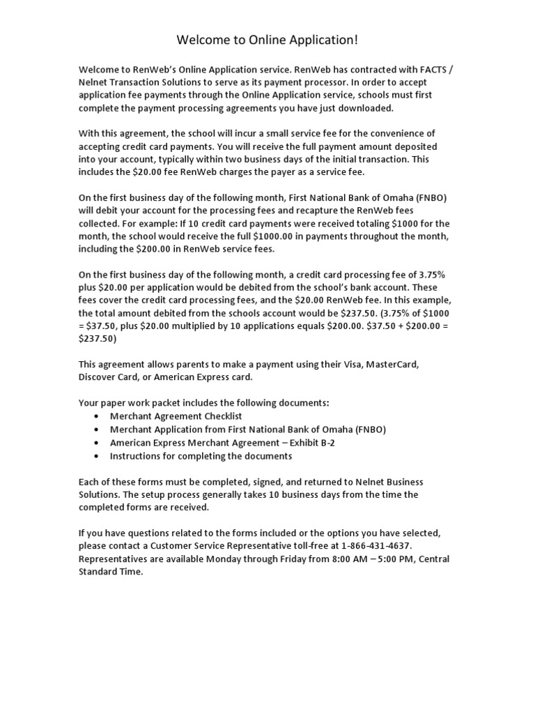 0 11a Merchant Agreement Oa Visa Inc Payments