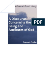 Discourse Concerning the Being and Attributes of God