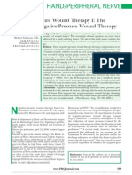 Negative Pressure Wound Therapy I the Paradox of.19