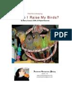 _ FCA How Do I Raise My Birds 072006
