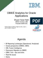 090909-ShyamNath-Slides-OBIEE Analytics for or Apps