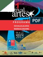 PROGRAMA+FESTIVAL+DE+LAS+ARTES+COQUIMBO+2012+_enero+6+al+22(1)