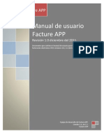Manual de Usuario Facture APP