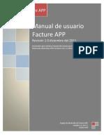Manual de Usuario Facture APP