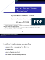 Bogusław Broda and Michał Szanecki- Dark Energy from Quantum Vacuum Fluctuations