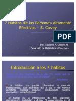 Los 7 Hábitos, Gustavo Cogollo, 2005-1