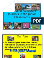The use of reflective journals in the junior classroom