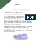 ACTIVIDAD 2 Calibracion de Conduct Ores