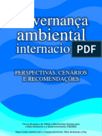 Governança Ambiental Internacional