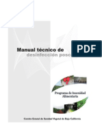 Manual de Desinfeccion