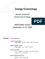 Robert Caldwell- Dark Energy Cosmology