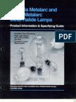 Sylvania Metalarc Product Information & Specification Guide