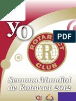 Campaña YO ROTARACT 2012