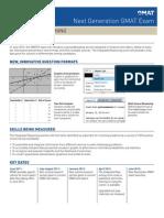 Next Gen GMAT Factsheet