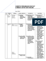 Resume Kliping Berita Perumahan Rakyat, 24 Januari 2012