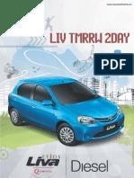 Liva YMC Diesel 4 Page Leaflet
