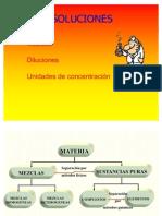 Disoluciones Quimicas I ACTUAL
