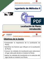 Sesión 3.0 IM 2 - Localización de Planta - Introducción