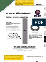Mercury Gear Case Components