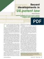 Patent Law changes