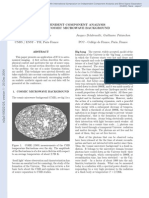 Jean-Francois Cardoso, Jacques Delabrouille and Guillaume Patanchon- Independent Component Analysis of the Cosmic Microwave Background