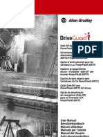 Drive Guard Safe-Off Option for PowerFlex 40P-70 AC Drives