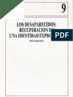 Izaguirre, I. - Los desaparecidos. Recuperación de una identidad expropiada [1992]