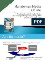 22 Manajemen Media Online