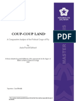 Coup-Coup Land - A Comparative Analysis of the Political Coups of Fiji - Anita Purcell Sjolund - MA Thesis - 2008