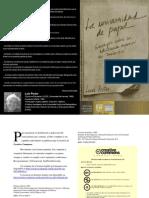 La Universidad de Papel- Luis Porter