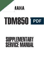 Yamaha Tdm 850 1999 Manual de Reparatie Www.manualedereparatie