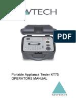 KewtechKT75 Manual
