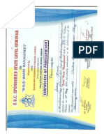 Certificate Ashok7