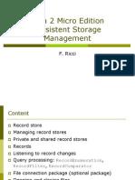 6 J2ME Database