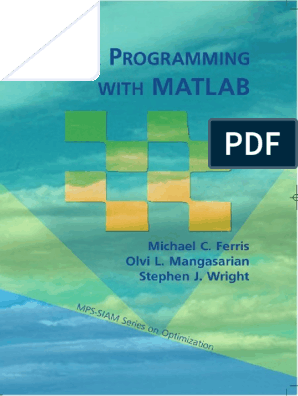 Linear Programming With Matlab | Linear Programming | Mathematical