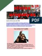 Noticias Uruguayas domingo 22 de Enero de 2012