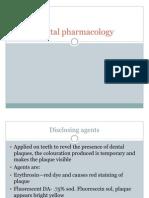 Dental Pharmacology