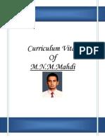Mahdi CV Origin Fake3