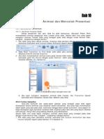 Bab 10 Microsoft Power Point