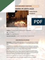 Ficha Recursos Etnograficos.la Hoguera de Santa Lucia