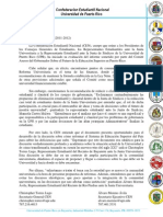CEN Cuestiona Informe sobre Reforma UPR