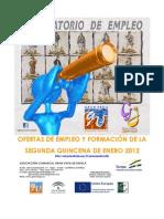 Boletín de Empleo y Formación para Sevilla
