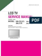 Lg 26lc51c,26lc7 Ch.lp78a
