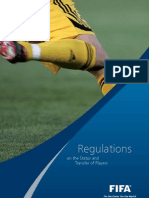 FIFA - Regulations on the Status and Transfer of Players