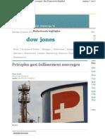 20120124.Petroplus Gaat Faillissement Aanvragen