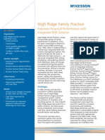 Family Practice Improves Financial Performance with Integrated EHR Solution