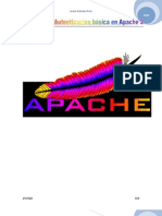 Configurar Autenticación básica en Apache 2